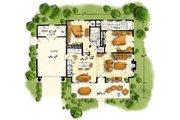 Cabin Style House Plan - 2 Beds 2 Baths 1065 Sq/Ft Plan #942-59 Floor Plan - Main Floor