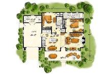 Cabin Floor Plan - Main Floor Plan Plan #942-59