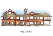 Craftsman Exterior - Rear Elevation Plan #454-14
