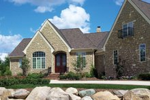 Home Plan - European Exterior - Front Elevation Plan #20-2286