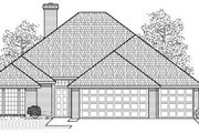 Traditional Style House Plan - 4 Beds 2.5 Baths 1786 Sq/Ft Plan #65-257 Exterior - Front Elevation