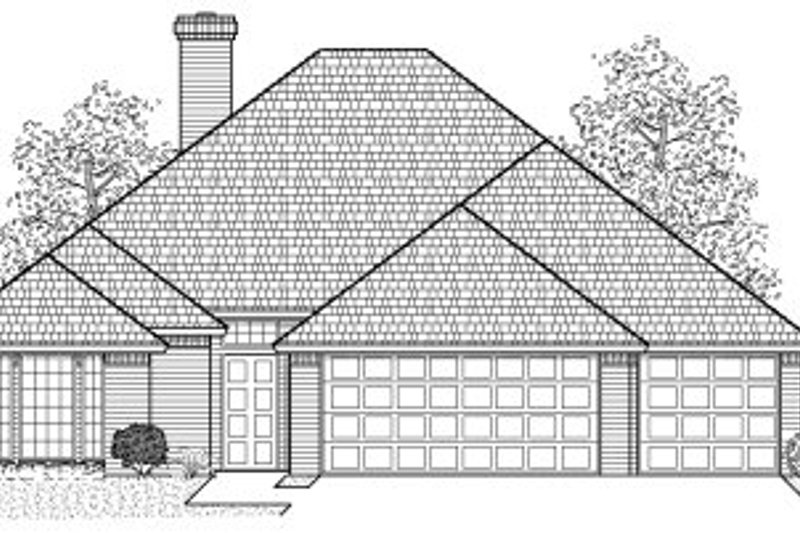 Traditional Style House Plan - 4 Beds 2.5 Baths 1786 Sq/Ft Plan #65-257