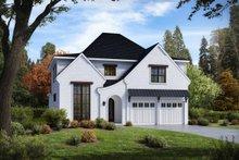 Tudor Exterior - Front Elevation Plan #54-399