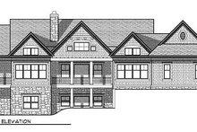 Traditional Exterior - Rear Elevation Plan #70-854