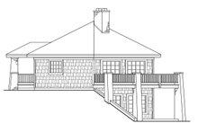 Home Plan - Craftsman Exterior - Other Elevation Plan #124-186