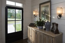 House Plan Design - Country Interior - Entry Plan #929-8