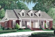 Southern Style House Plan - 3 Beds 2 Baths 2185 Sq/Ft Plan #34-126