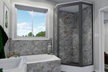 Ranch Interior - Master Bathroom Plan #1060-40