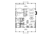Country Floor Plan - Main Floor Plan Plan #137-262