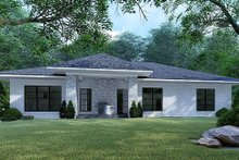 Mediterranean Exterior - Rear Elevation Plan #923-124