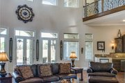 European Style House Plan - 6 Beds 6.5 Baths 7236 Sq/Ft Plan #119-169 Interior - Family Room