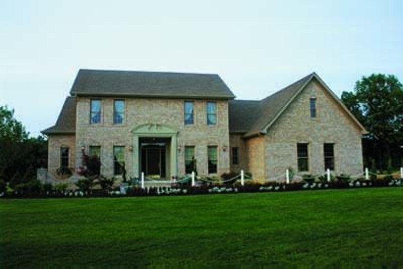 Colonial Exterior - Front Elevation Plan #20-951 - Houseplans.com