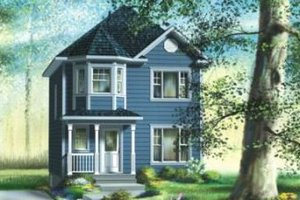 Traditional Exterior - Front Elevation Plan #25-4044
