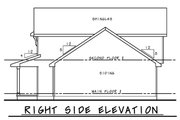 Farmhouse Style House Plan - 3 Beds 2.5 Baths 1600 Sq/Ft Plan #20-2410 Exterior - Other Elevation