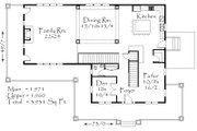 Country Style House Plan - 4 Beds 3.5 Baths 3931 Sq/Ft Plan #509-30 Floor Plan - Main Floor Plan
