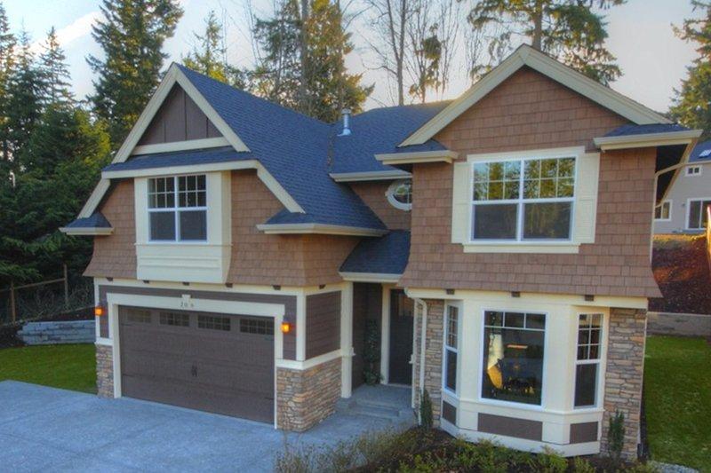 Craftsman Style House Plan - 4 Beds 2.5 Baths 2651 Sq/Ft Plan #132-210