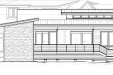 Contemporary Exterior - Other Elevation Plan #895-27