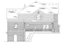 Dream House Plan - Victorian Exterior - Rear Elevation Plan #5-420