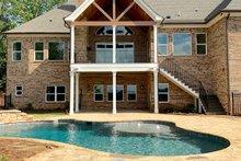 Craftsman Exterior - Rear Elevation Plan #437-105