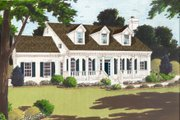 Colonial Style House Plan - 4 Beds 2.5 Baths 2353 Sq/Ft Plan #3-237
