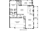 Farmhouse Style House Plan - 6 Beds 4.5 Baths 3626 Sq/Ft Plan #1058-176 Floor Plan - Main Floor