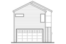 House Plan Design - Exterior - Rear Elevation Plan #124-1004