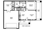 Ranch Style House Plan - 1 Beds 1.5 Baths 1122 Sq/Ft Plan #1058-179 Floor Plan - Main Floor Plan