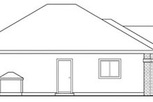Dream House Plan - Ranch Exterior - Other Elevation Plan #124-283