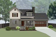 Dream House Plan - Country Exterior - Front Elevation Plan #79-180