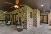 Craftsman Style House Plan - 3 Beds 3 Baths 1819 Sq/Ft Plan #929-869 Exterior - Covered Porch
