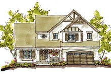 Home Plan Design - Country Exterior - Front Elevation Plan #20-248