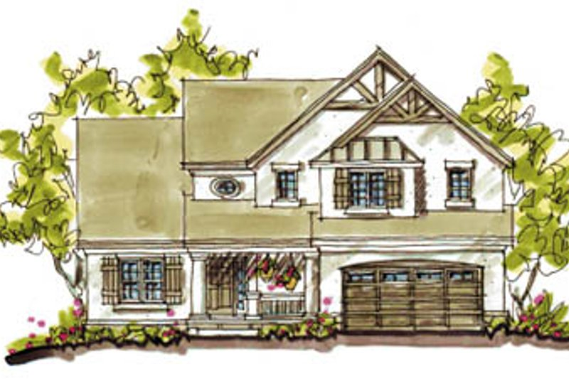 Country Exterior - Front Elevation Plan #20-248 - Houseplans.com
