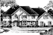 Colonial Style House Plan - 4 Beds 3.5 Baths 3746 Sq/Ft Plan #328-124