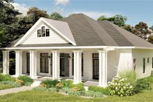 House Design - Bungalow Exterior - Front Elevation Plan #44-238