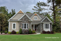 Ranch Style House Plan - 3 Beds 2 Baths 1908 Sq/Ft Plan #929-1013 Exterior - Front Elevation