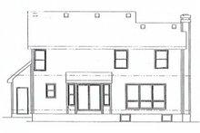 Traditional Exterior - Rear Elevation Plan #20-603