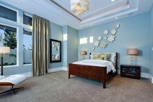 Architectural House Design - Contemporary Interior - Master Bedroom Plan #935-5