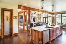 House Plan Design - Ranch Interior - Kitchen Plan #48-712