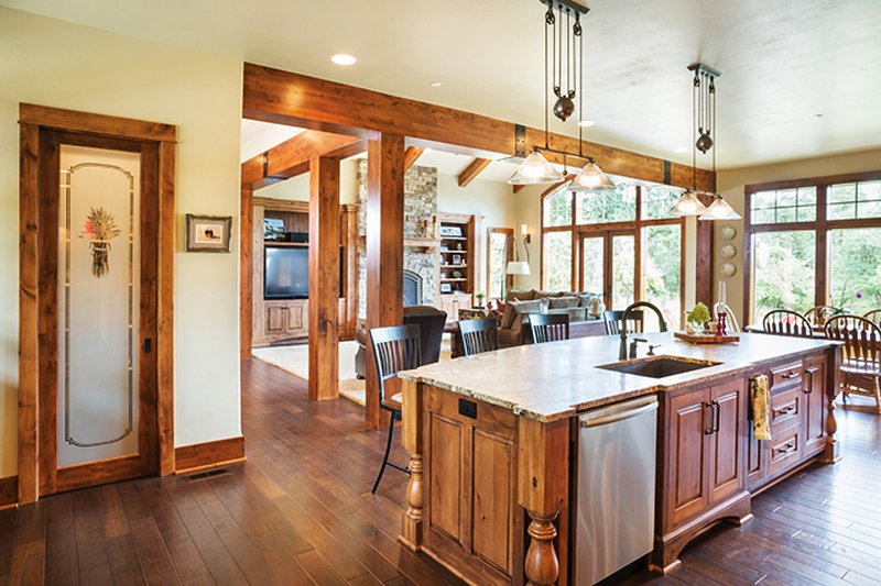Ranch Interior - Kitchen Plan #48-712 - Houseplans.com