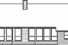 Country Exterior - Rear Elevation Plan #84-149