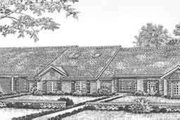 Traditional Style House Plan - 3 Beds 2 Baths 6606 Sq/Ft Plan #310-476 Exterior - Front Elevation