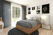 Contemporary Style House Plan - 3 Beds 3 Baths 1587 Sq/Ft Plan #23-2312 Interior - Bedroom