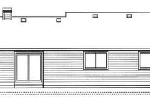 Traditional Exterior - Rear Elevation Plan #91-106