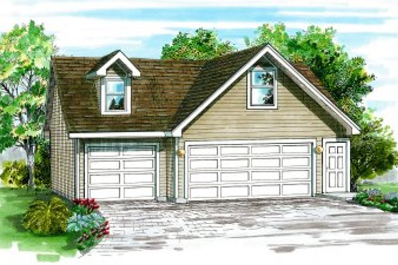 Traditional Exterior - Front Elevation Plan #47-512