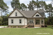 Architectural House Design - Country Exterior - Front Elevation Plan #929-704