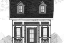 Cottage Exterior - Front Elevation Plan #23-460