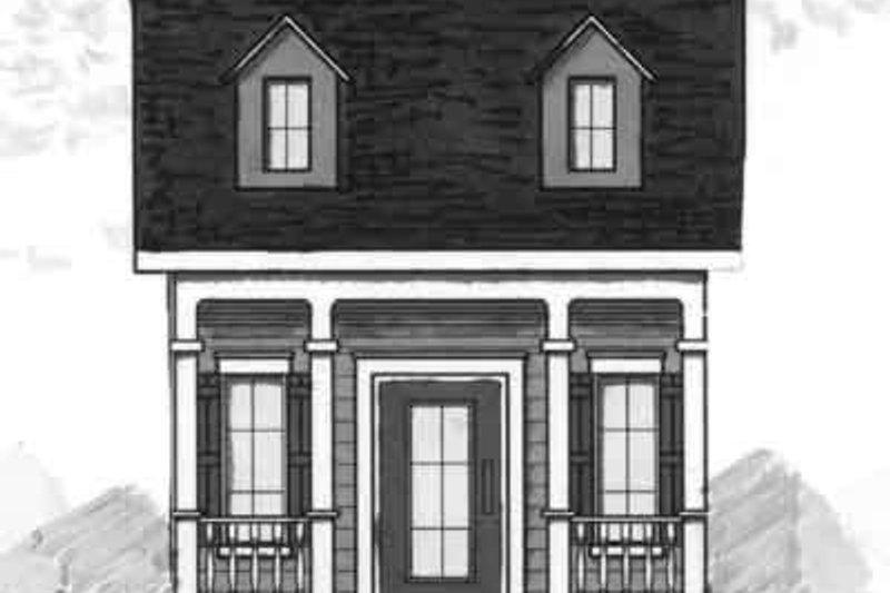 Dream House Plan - Cottage Exterior - Front Elevation Plan #23-460