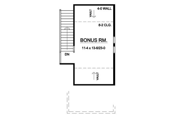 Dream House Plan - Bonus