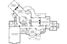 European Floor Plan - Main Floor Plan Plan #453-23