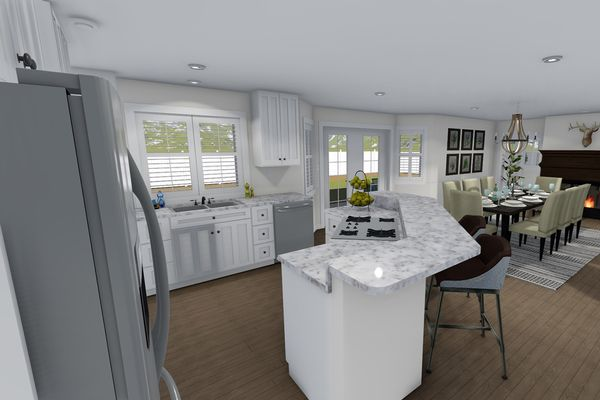 Dream House Plan - Farmhouse Floor Plan - Other Floor Plan #1060-1